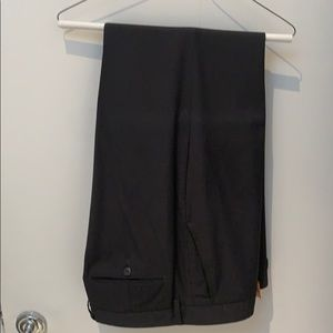 Unlisted by Kenneth Cole charcoal gray suit pants